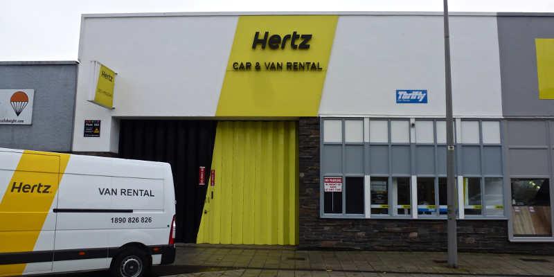 Cork City Car Hire Locations